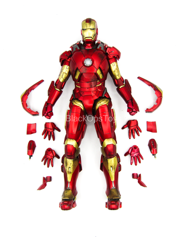 Iron Man 3 - Pepper Pots - Mark IX Suit w/Pose-able Hands