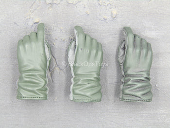 OD Green Gloved Hand Set (x3)