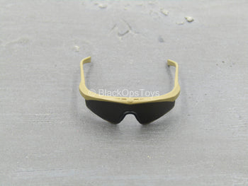 British Marine - Kabul Security - Tan Glasses w/Black Lenses