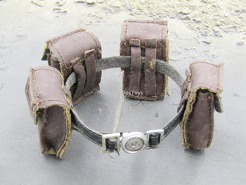 Lost Planet - Mercenary - Belt w/Large Brown Pouches