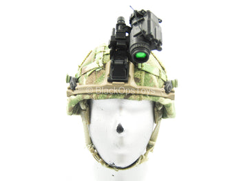 British Marine - Kabul Security - MTP Camo Helmet w/NVG Set