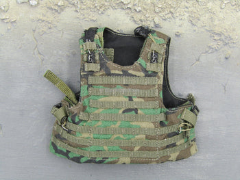 US Navy Corpsman Joint Operation Woodland Camo Tactical Assault Vest