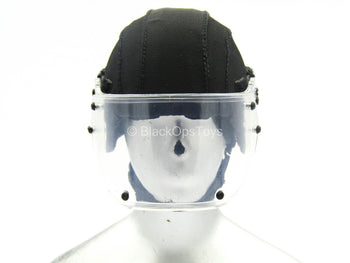 Spetsnaz FSB Alpha Group - Black 2DT Helmet w/Visor