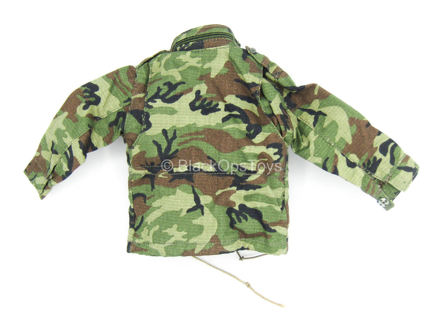 Woodland Camo Jacket CIA Operative
