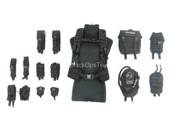 Spetsnaz FSB Alpha Group - Black Vest w/Pouch Set