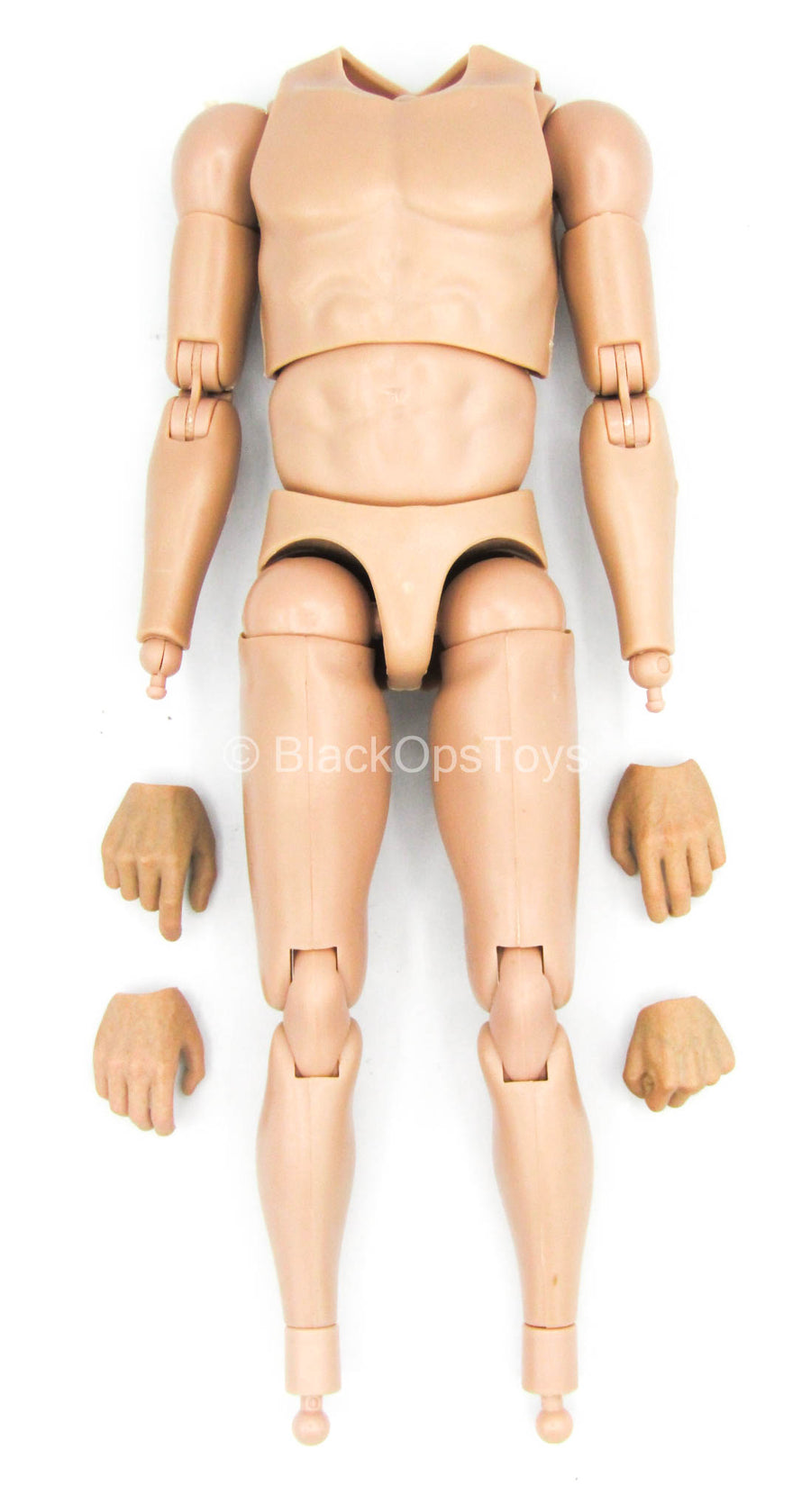The Comedian - Male Base Body w/Hand Set