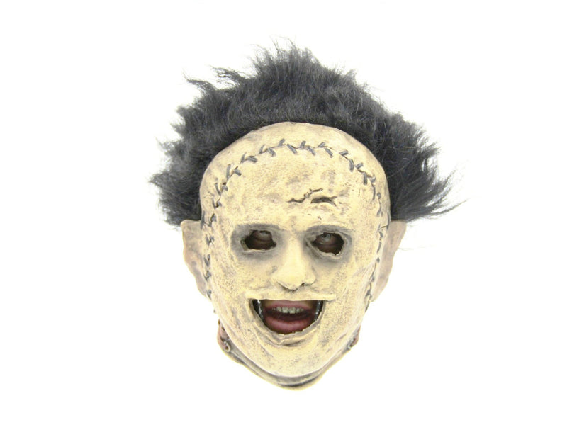 Leatherface - Head Sculpt w/Human Skin Mask Detail