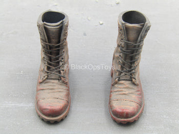 Wolverine - X-24 Clone - Brown Blood Stained Boots (Foot Type)