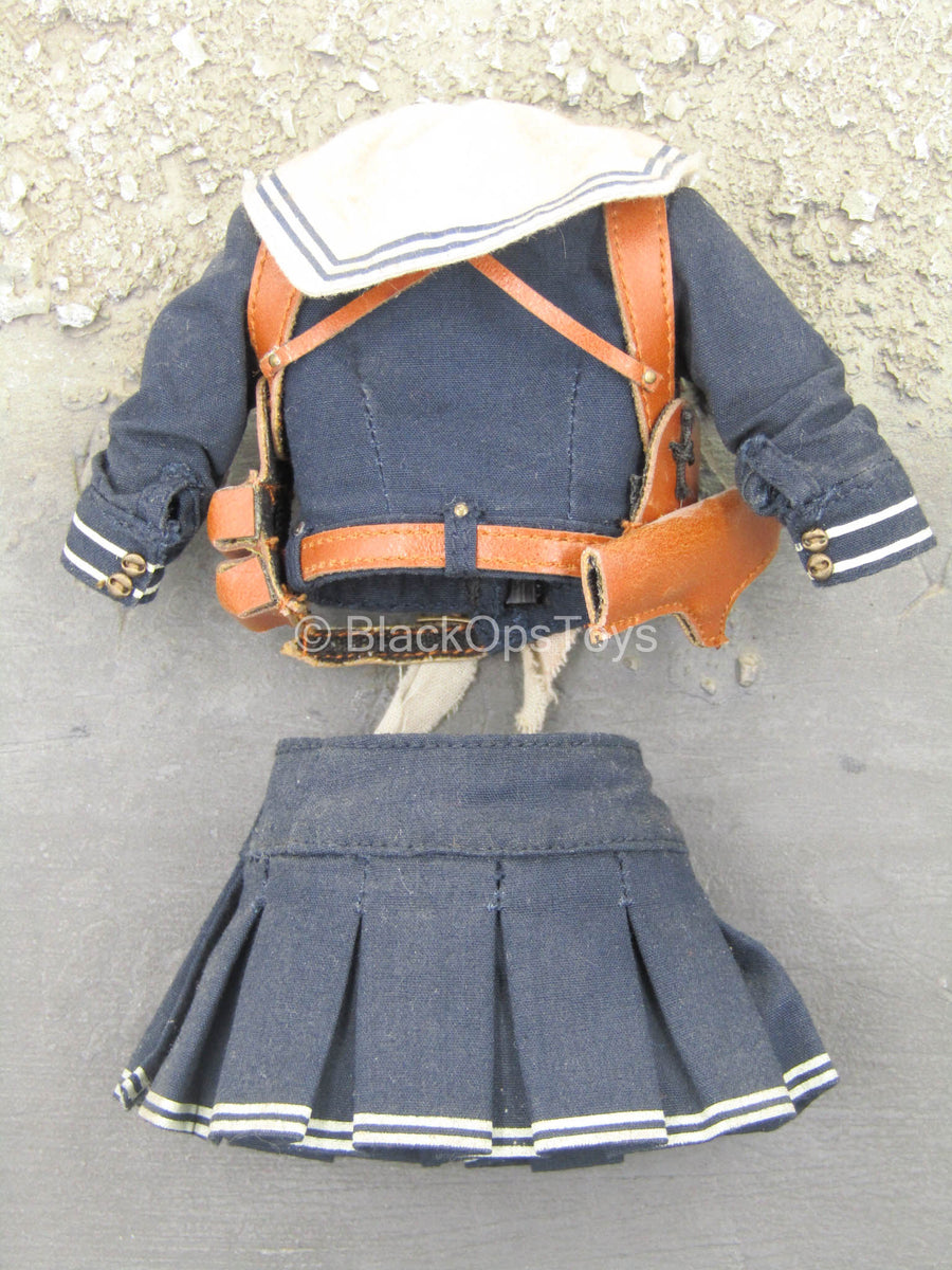 Sucker Punch - Baby Doll - School Uniform w/Brown Chest Holster