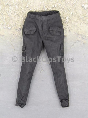 Hunger Games Katniss Everdeen Female Black Combat Pants
