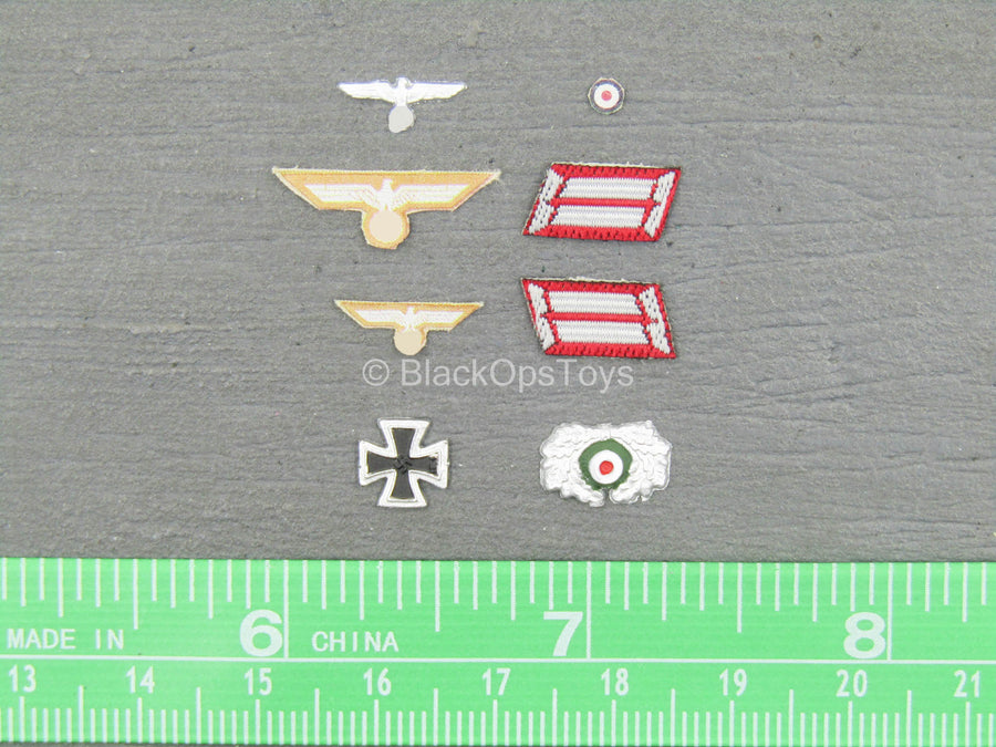 WWII - Afrika Female Officer - Patch Set
