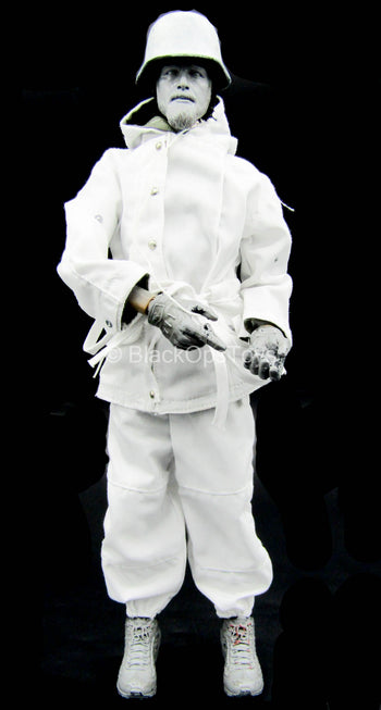 WWII - Panzerjäger NCO - White Winter Wear Uniform Set