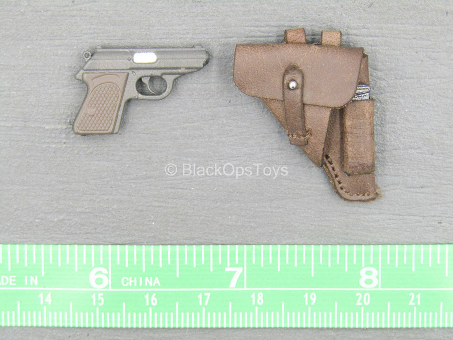 WWII - Afrika Female Officer - Walther PPK Pistol w/Sheath