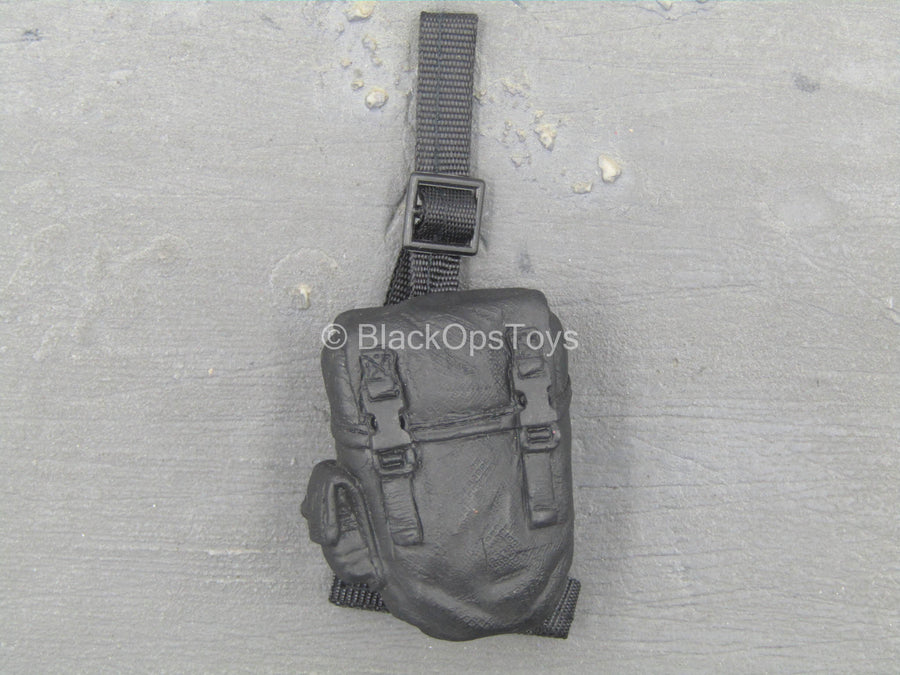 S.W.A.T. Team Leader 1 - Black Drop Leg Molded Pouch