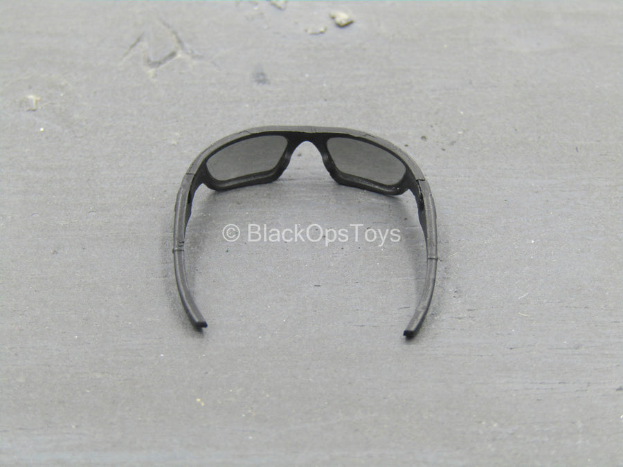 GLASSES - Black Frame Monster Dog Glasses w/Smoke Lenses