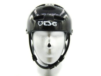 Professional Skater - Tony Hawk - Black Helmet w/Stickers