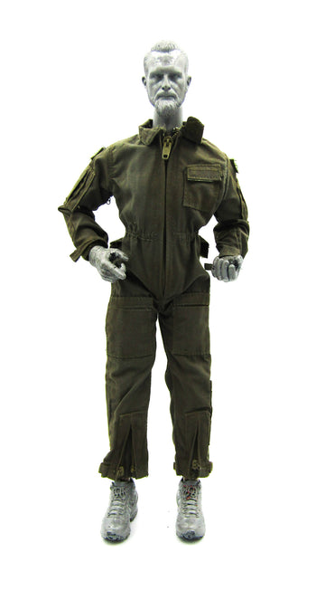 USMC 26th 1st Force Recon - OD Green Nomex Flight Suit (DAMAGED)