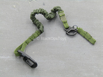 GEAR - OD Green Retention Lanyard w/Black Carabiner