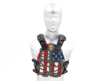 NSW Direct Action Breacher American Flag Frame Plate Vest