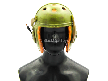 WWII - Tank Division - Green Detailed Helmet