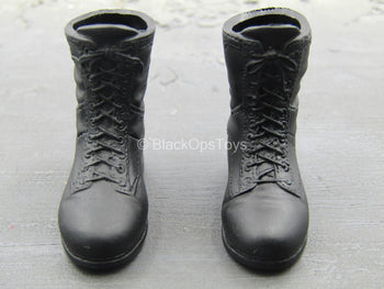 Sniper Team Observer - Female Black Molded Boots (Foot Type)