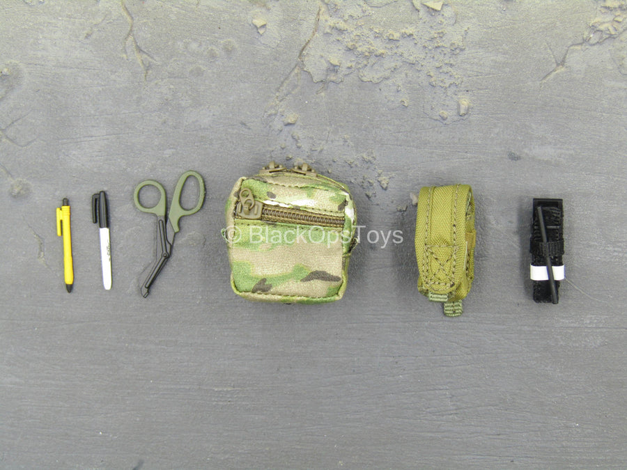 SMU - C.A.G. Breacher - Multicam IFAK Pouch & Equipment Set