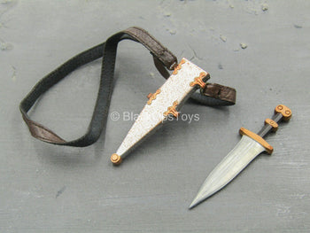 Roman Army - Centurion - Metal Dagger w/Sheath