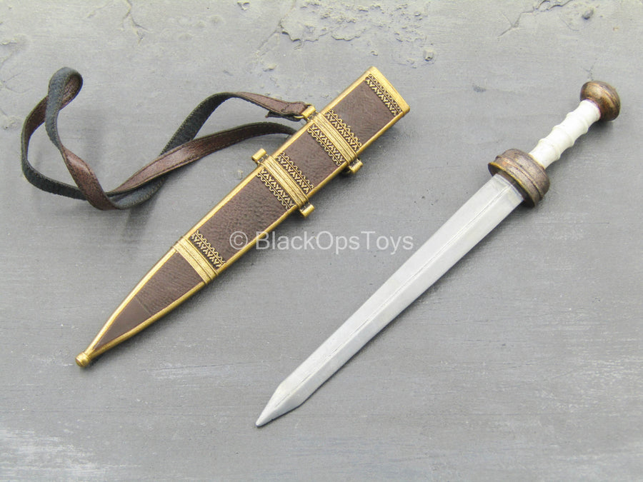 Roman Army - Centurion - Metal Sword w/Sheath