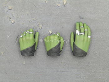 GOTG - Gamora - Green Female Hand Set (Type 2)