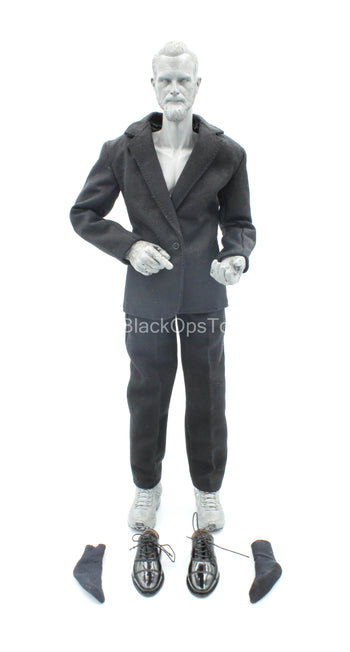 Golgo 13 - Black Dress Suit Set w/Shoes (Foot Type)