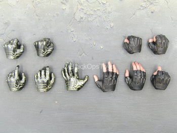 Infinity War - Winter Soldier - Prosthetic & Black Gloved Hand Set