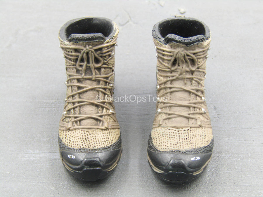HALO NSWDG MFF Insertion - Brown Combat Boots