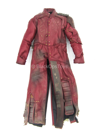 Guardians Of The Galaxy - Red Weathered Ravager Trench Coat
