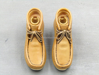 Breaking Bad - Heisenberg - Tan Mocasin Like Shoes (Peg Type)