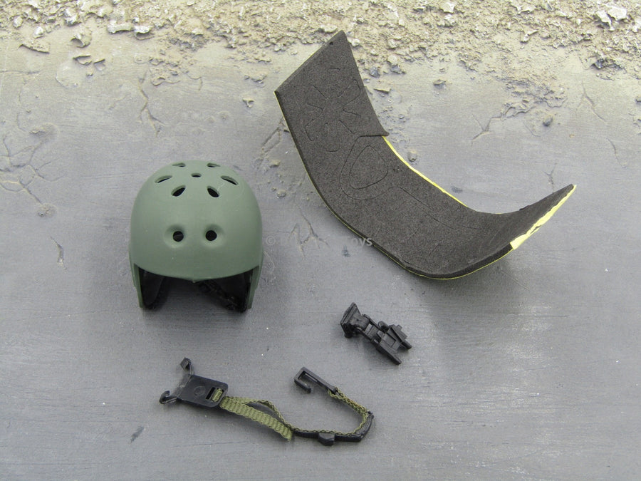 OD Green Protec Set Helmet