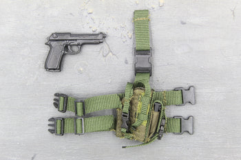 US Air Force - AFSOC - M9 Beretta w/Drop Leg Holster