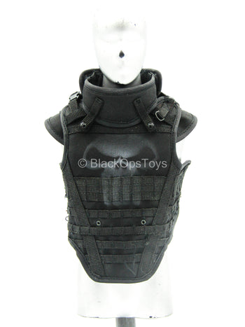 Punisher - The Revenger - Black Combat Vest w/Punisher Logo