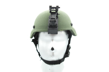 US Air Force - AFSOC - OD Green Helmet w/NVG Set