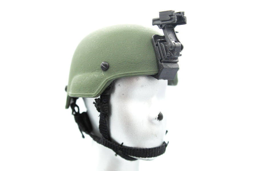 US Air Force - AFSOC - OD Green Helmet w/NVG Mount