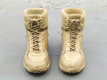 U.S. Army Special Forces Sniper - Tan Combat Boots (Peg Type)