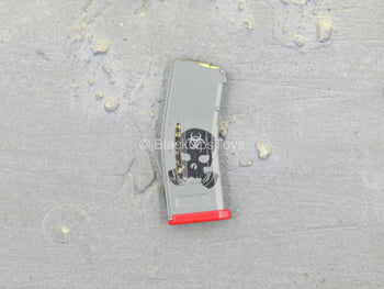 AMMO - Grey & Red 5.56 30 Round Magazine