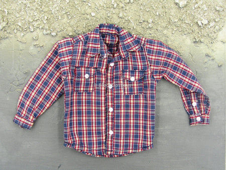 PMC Long Sleeve Plaid Shirt Red/Blue