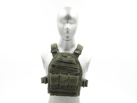 PMC MSA Smoke Green Plate Carrier