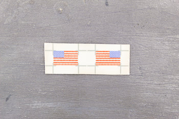 US Air Force - AFSOC - American Flag Patch Set
