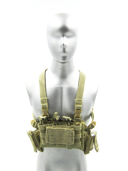 PMC TT Mini Coyote Tan Chest Rig