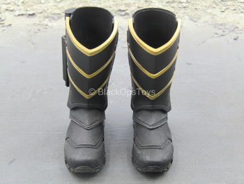 Endgame - Hawkeye - Black & Gold Like Boots w/Dagger (Peg Type)