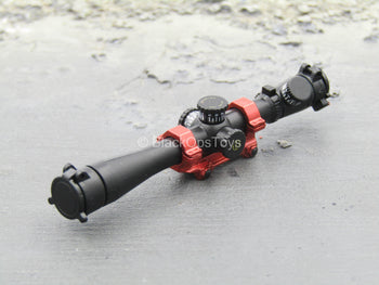 SCOPE - Black & Red Sniper Scope Picatinny