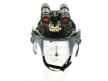 ZERT - AMG Juggernaut - Black Multicam Helmet w/NVG & Face Shield