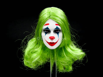 Female Comedian - Female Face Painted Head Sculpt