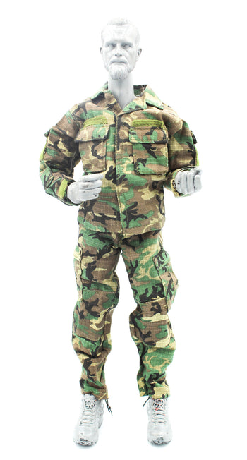 US Air Force - AFSOC - Woodland Camo Ripstop Uniform Set